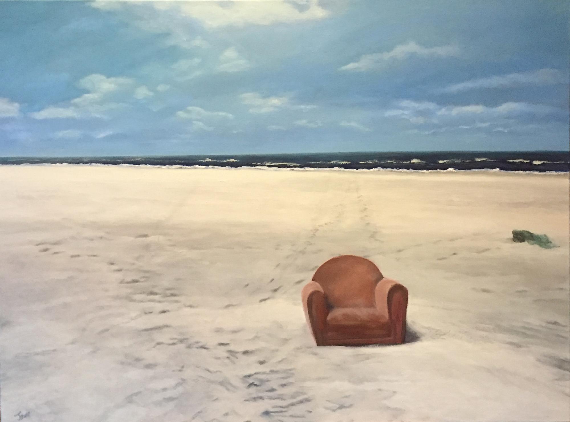 Fundsache roter Sessel
